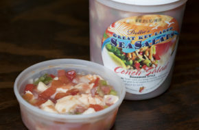 Conch Salad: 8oz