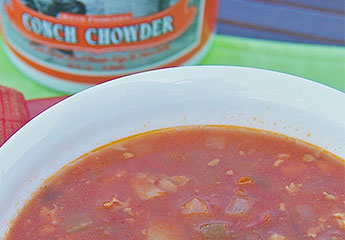 Conch Chowder, 1/2 Gallon